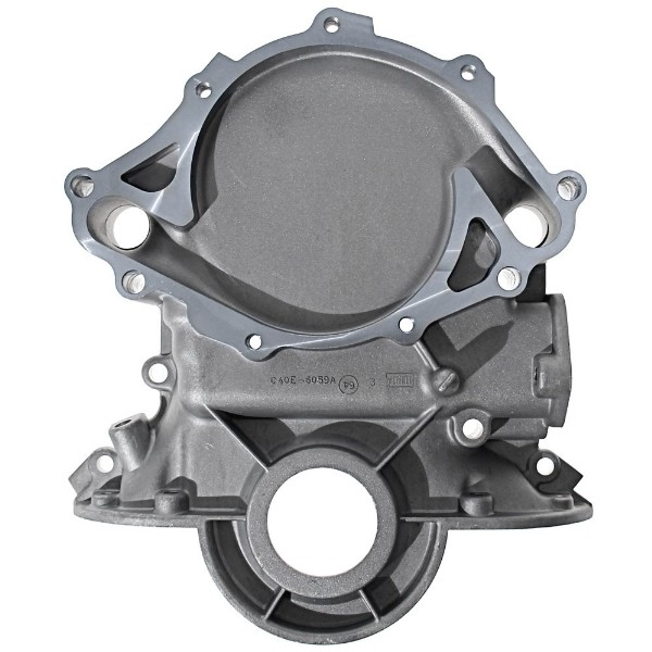 64-65 260/289 EARLY TIMING COVER - EARLY ALUMINUM WATER PUMP