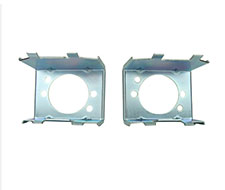 64-65 FALCON PARKING LIGHT RETAINERS - PAIR