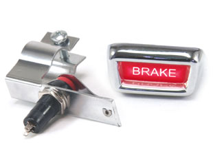 64-66 PARKING BRAKE WARNING LIGHT