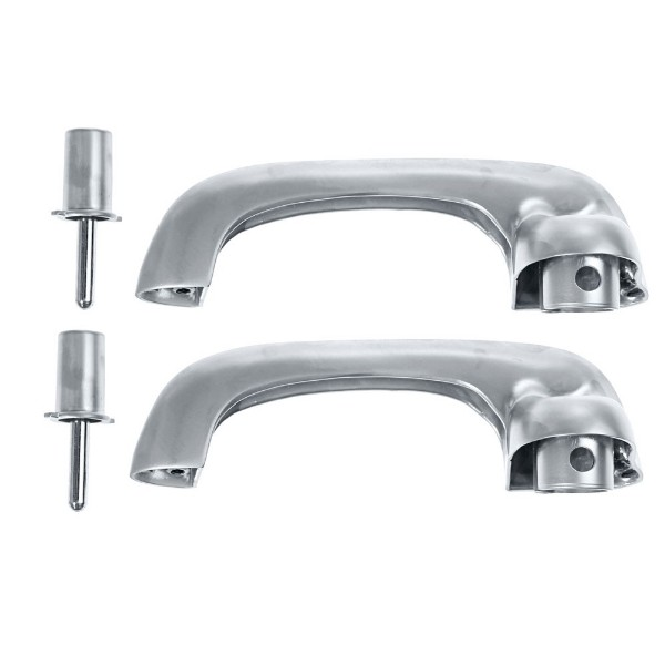 65-66/69-70 OUTER DOOR HANDLES-SATIN