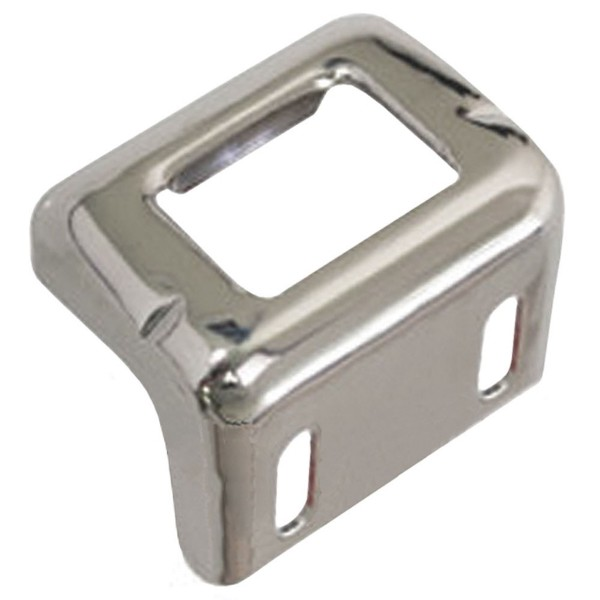 65-66 TRUNK LATCH STRIKER- CHROME