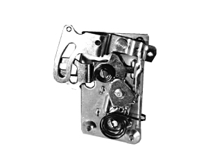 64-66 LH DOOR LATCH ASSEMBLY