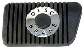 64 1/2 DISC BRAKE PEDAL PAD - (MANUAL TRANS)