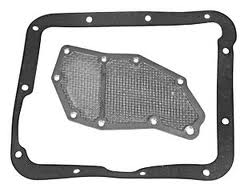 65-69 C4 TRANSMISSION PAN GASKET & FILTER, AFTERMARKET