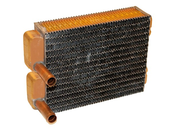 65-66 ALL; 67-68 W/O A/C HEATER CORE COPPER/BRASS