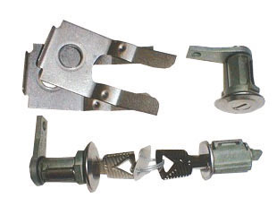 65-66 LOCK SET IGNITION & DOORS