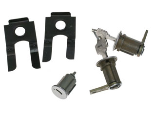 65-66 PONY DOOR / IGNITION LOCK KEY SET