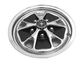 "64-67 14"" STYLE STEEL WHEEL HUB CAP SET - 4 PCS"