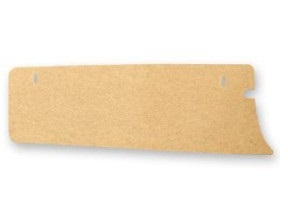 65-66 TRUNK SIDE FILLER BOARD - LH