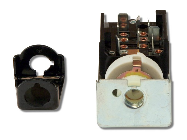 64-65 BEFORE 8/17/64 HEADLIGHT SWITCH W/GENERATOR - W/SPACER
