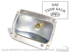65-66 TAIL LIGHT HOUSING WITH LOGO