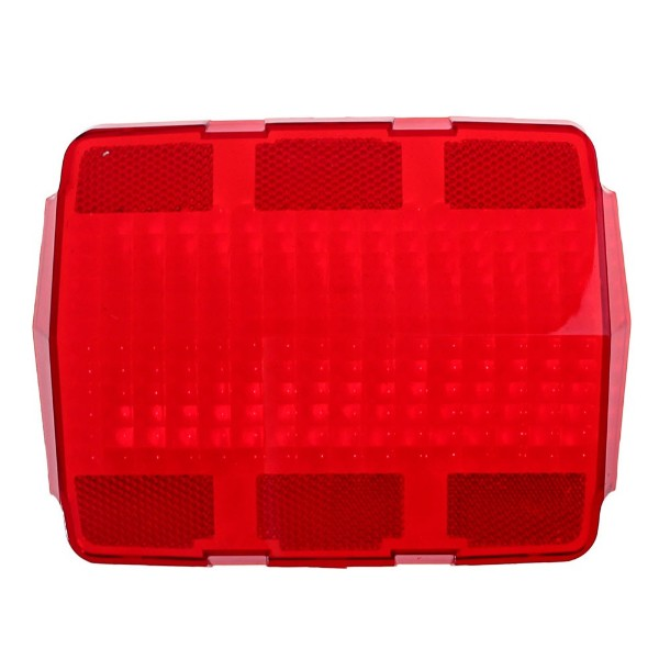 64-66 TAIL LIGHT LENS WITH FOMCO LOGO