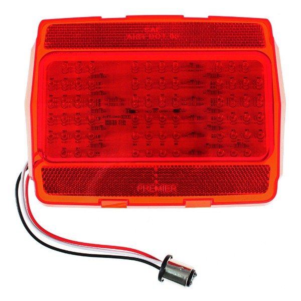 65-66 TAIL LIGHT LENS WITH LED LIGHTS