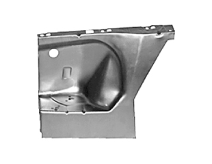 65-66 RH FRONT FENDER APRON - REPRODUCTION