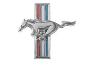 65-66 ALL, 67-68 6 CYL LH FENDER HORSE EMBLEM