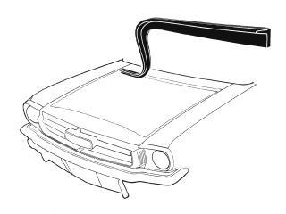 65-66 HOOD TO FIREWALL WEATHERSTRIP