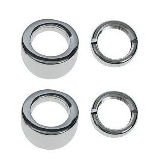 64-65 WIPER BEZEL & NUT KIT