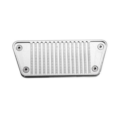 64-67 MUSTANG BILLET BRAKE PEDAL COVER (AUTOMATIC)