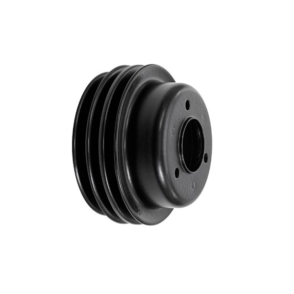65-66 LOWER CRANK PULLEY - V8 - 3 GROOVE