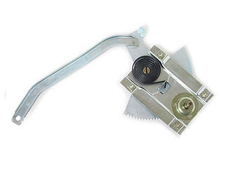 65-66 RH CONCOURSE WINDOW REGULATOR - SCREW-ON
