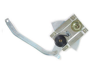 65-66 LH CONCOURSE WINDOW REGULATOR - SCREW-ON