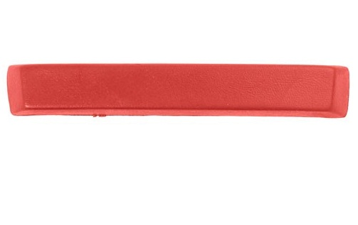65 ARM REST PAD - BRIGHT RED