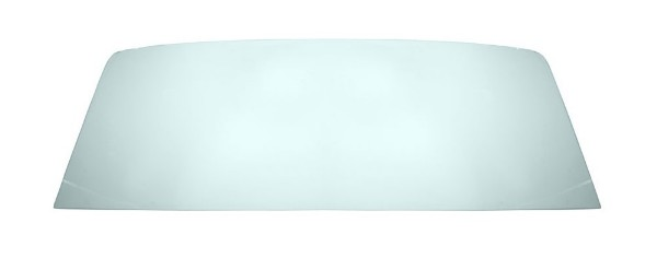 65-68 COUPE REAR BACK WINDOW GLASS - GREEN TINT