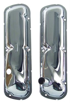 65-67 260-289-302-351W CONCOURS CHROME VALVE COVERS