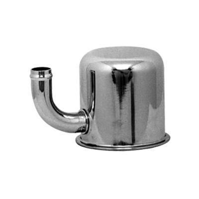 65-66 EXACT REPRO OIL BREATHER CAP EMISSIONS CHROME - CLOSED