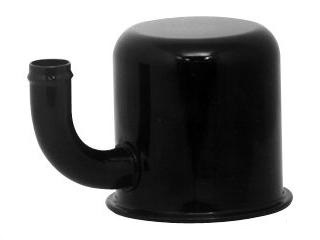 65-66 EXACT REPRO OIL BREATHER CAP EMISSIONS BLACK - CLOSED