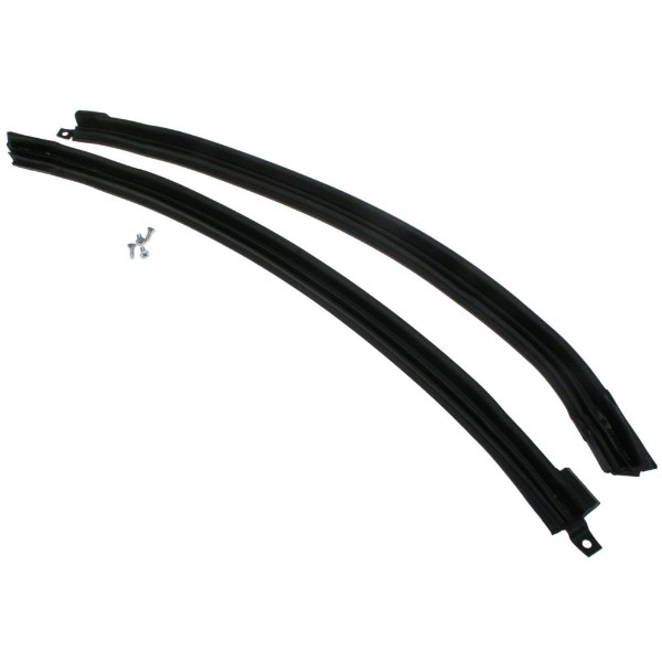 65-68 CONVERTIBLE RH/LH WINDSHIELD PILLAR WEATHERSTRIP