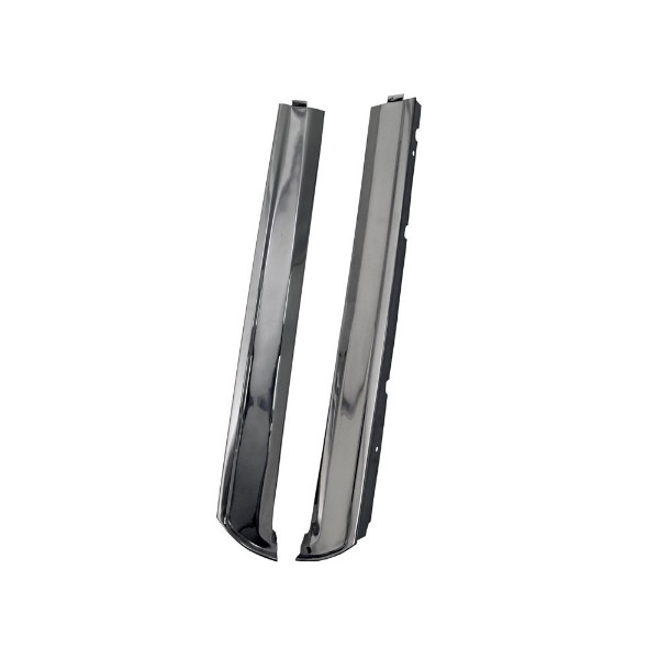 64-68 CONVERTIBLE WINDSHIELD SIDE MOLDING SET