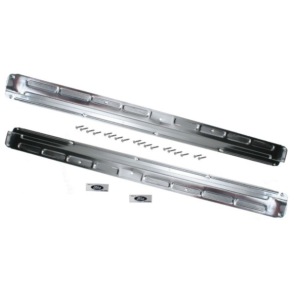 65-66 DOOR SILL PLATE KIT - CONVERTIBLE