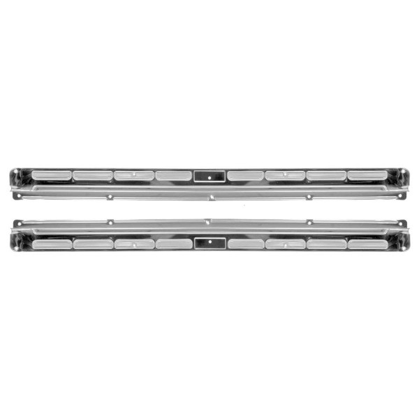 64-68 CONVERTIBLE STAINLESS STEEL DOOR SILL PLATES - PAIR