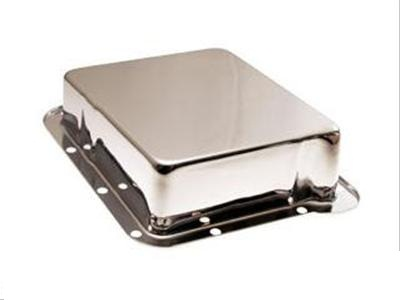 "65-73 C4 TRANSMISSION PAN 1"" DEEP- CHROME"