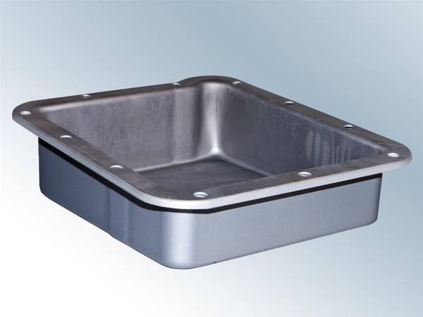 "64-73 C4 TRANSMISSION PAN 1"" DEEP - GRAY"