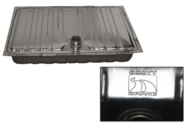 64-68 STAINLESS STEEL GAS TANK