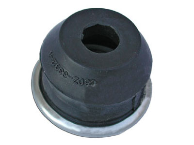 67-69 TIE ROD DUST BOOT SEAL - WITH METAL RING