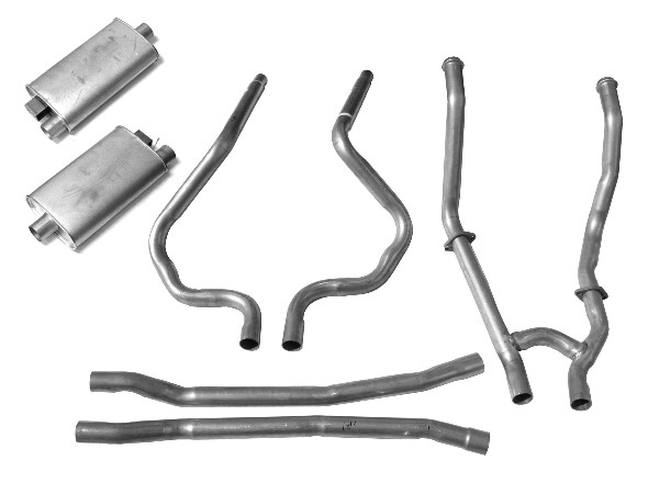 65-66 DUAL EXHAUST KIT