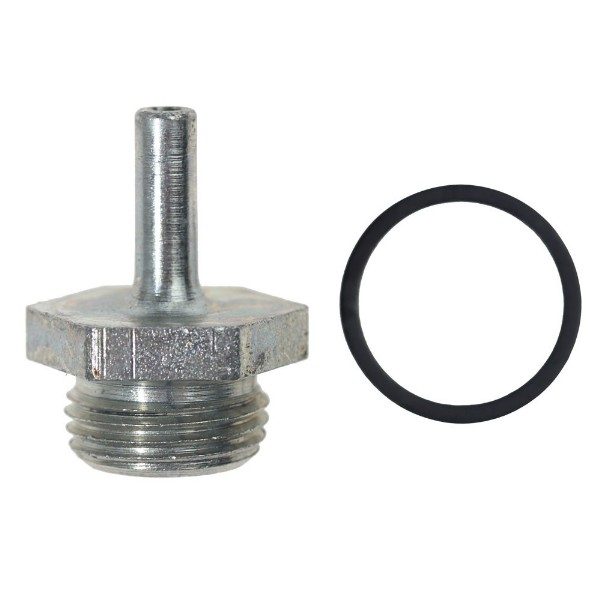 67-73 DISTRIBUTOR VACUUM HOSE FITTING