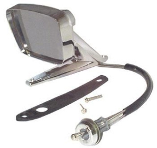 67-68 LH REMOTE MIRROR - REPRODUCTION