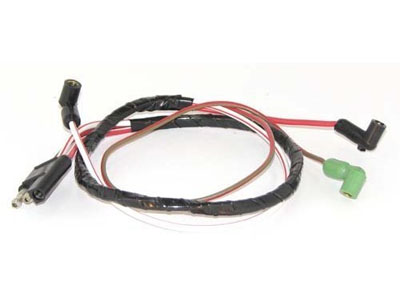 67-68 SMALL BLACK V8 WITHOUT TACH ENGINE GAUGE WIRING FEED