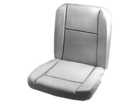 67 STANDARD SEAT FOAM WITH LISTING WIRES