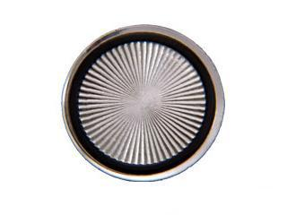 68-70 DELUXE SEAT BELT BUTTON COVER (PR)
