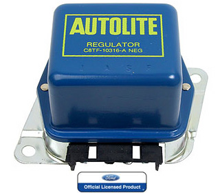 68-69 CONCOURS VOLTAGE REGULATOR - BLUE WITH A/C