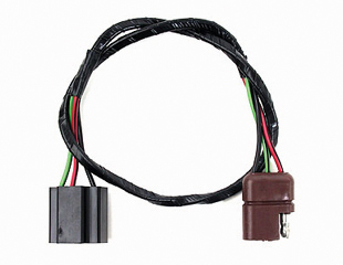 67-68 HEADLIGHT EXTENSION FEED WIRING - RED OR BROWN