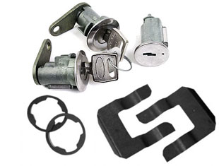 67-69 DOOR AND IGNITION LOCK SET