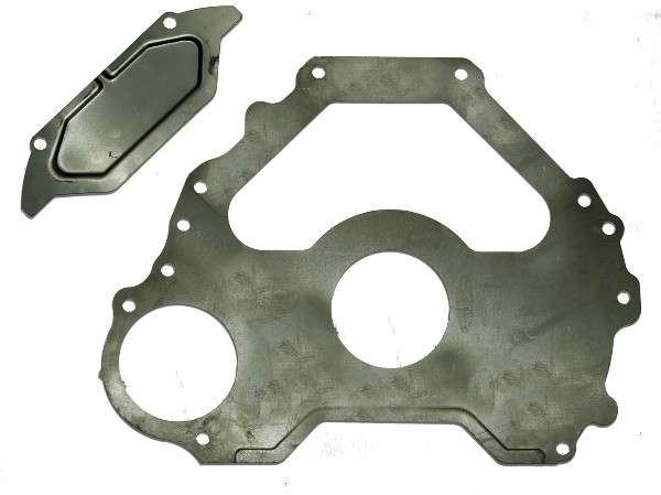 68-73 SMALL BLOCK C4 TRANSMISSION SPACER PLATE - ( FITS 164 TOOT