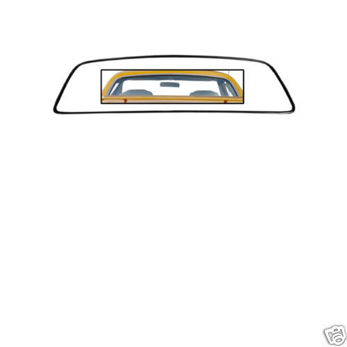 69-70 COUGAR REAR WINDOW WEATHERSTRIP