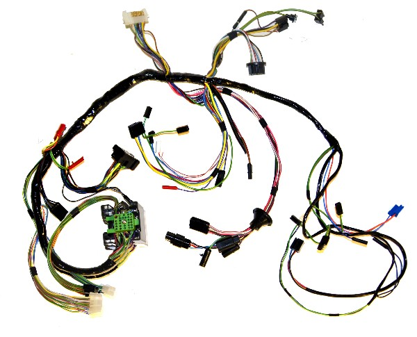69 UNDERDASH WIRING HARNESS, WITH TACH